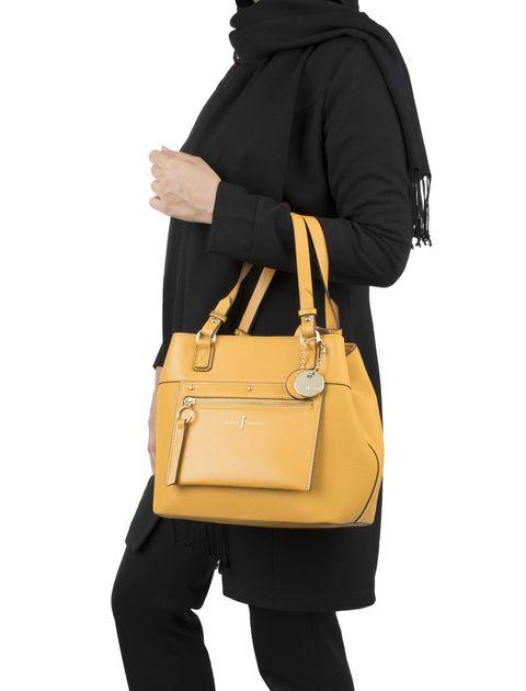 کیف دوشی روزمره زنانه - زرد - 8