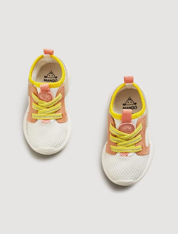 کفش بندی دخترانه نوزادی - مانگو