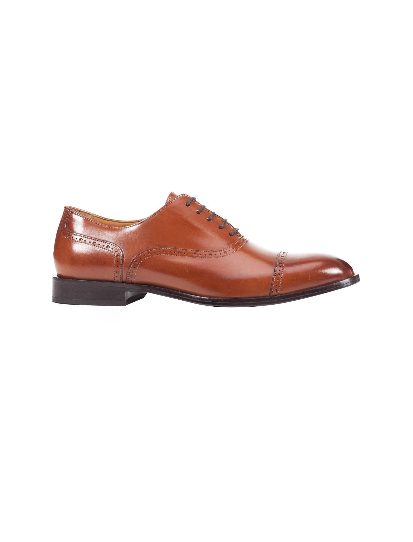 کفش رسمی چرم مردانه Saymore A - جی اوکس - قهوه اي  - 1