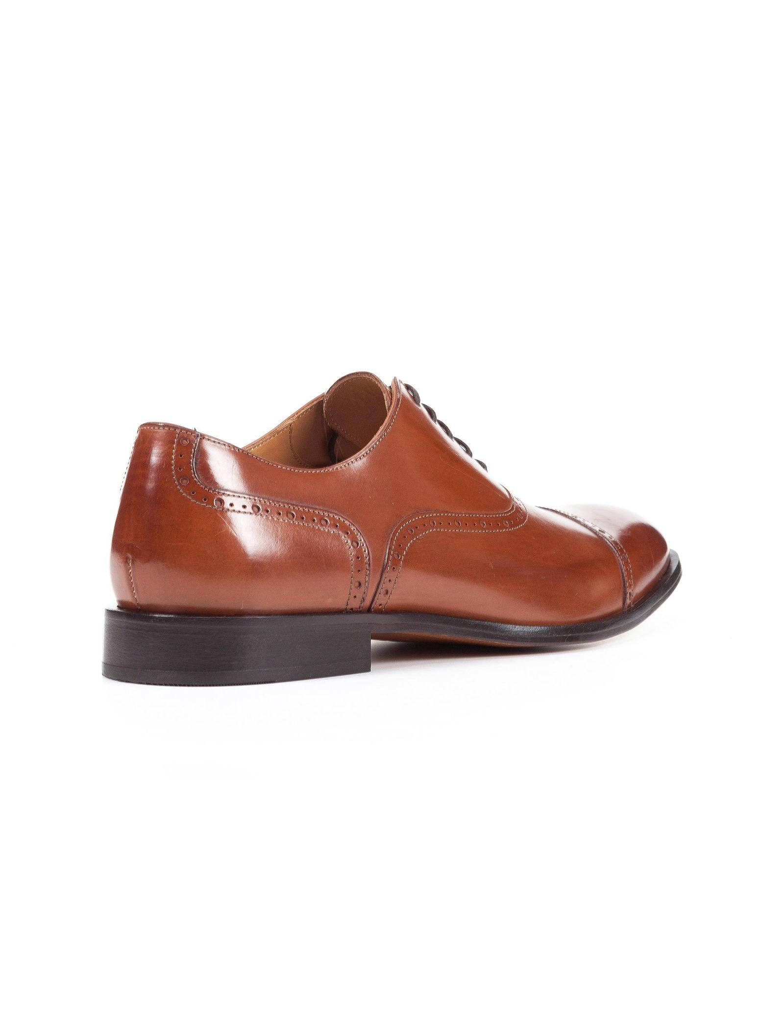کفش رسمی چرم مردانه Saymore A - جی اوکس - قهوه اي  - 4