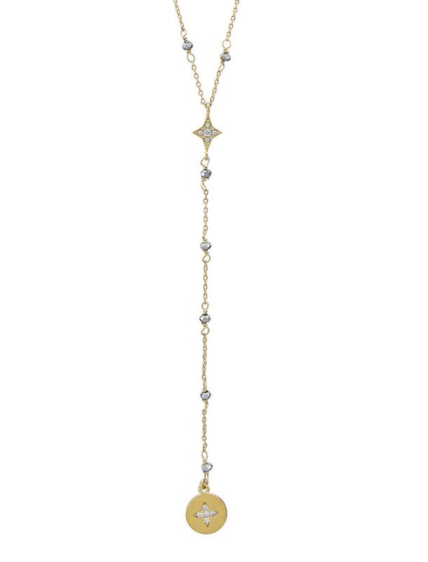 گردنبند برنجی آویز زنانه Stella Y - اکسسوریز