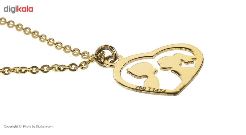 آویز ساعت طلا 18 عیار ماهک مدل MW0083 - مایا ماهک
