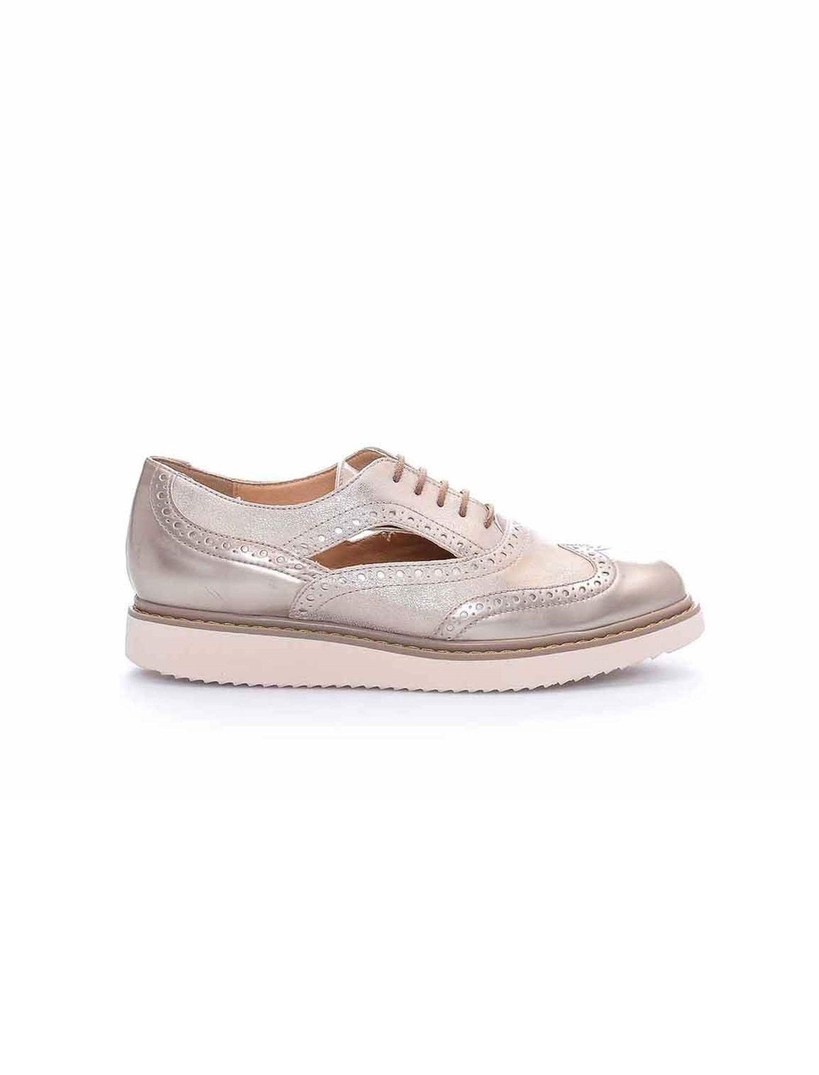 کفش تخت زنانه D Thymar - جی اوکس - بژ - 1