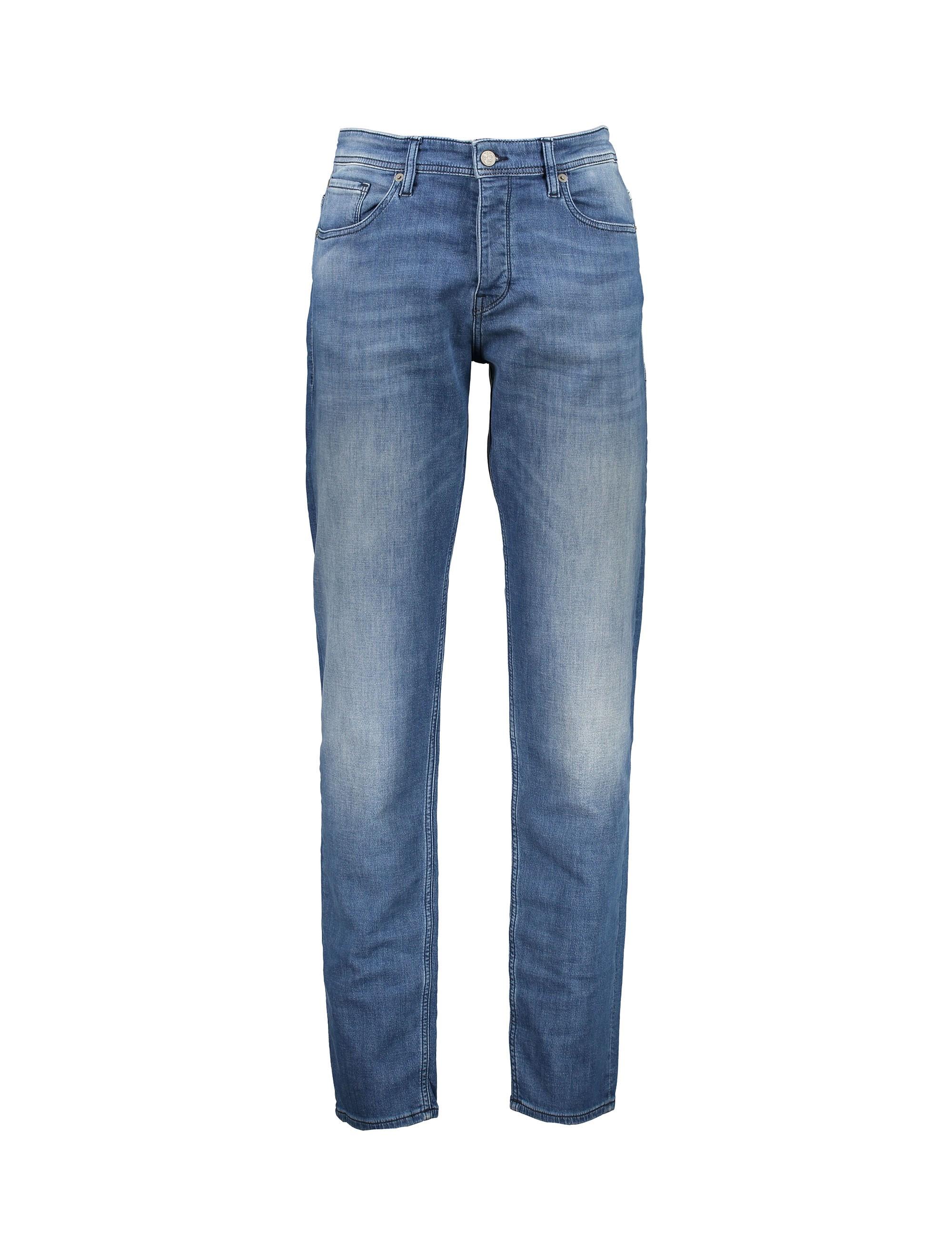 شلوار جین راسته مردانه Orange90-P SUAVE - باس اورنج - آبي تيره - 1