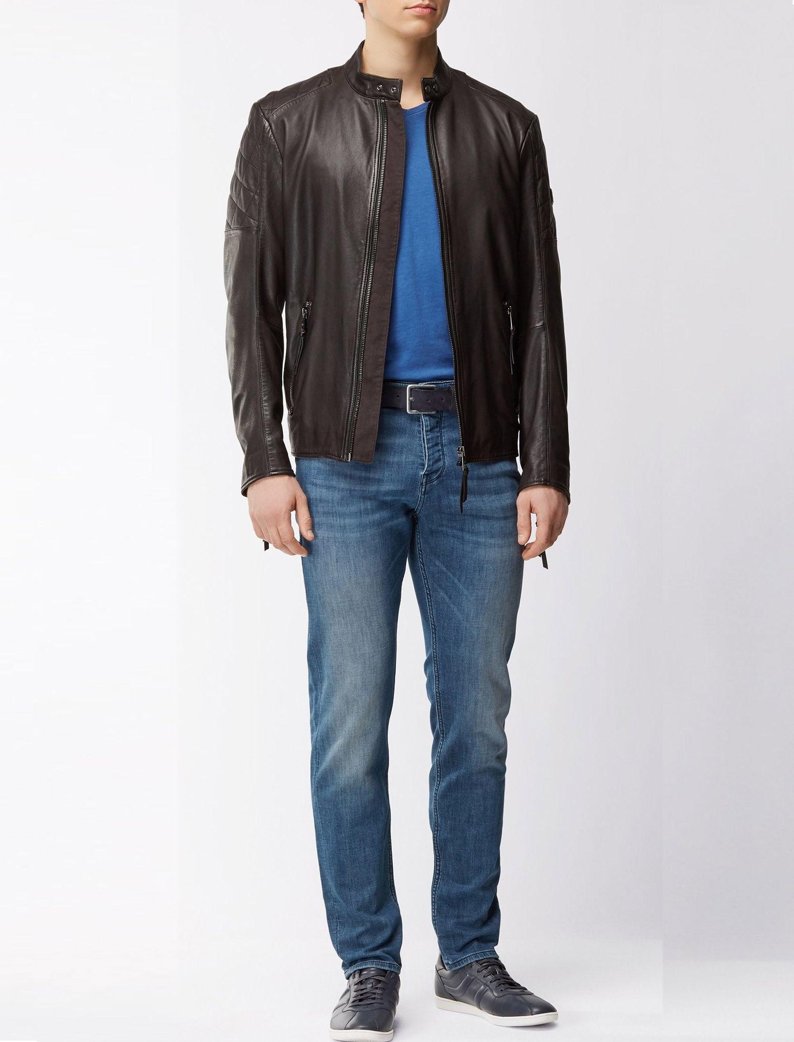 شلوار جین راسته مردانه Orange90-P SUAVE - باس اورنج - آبي تيره - 2
