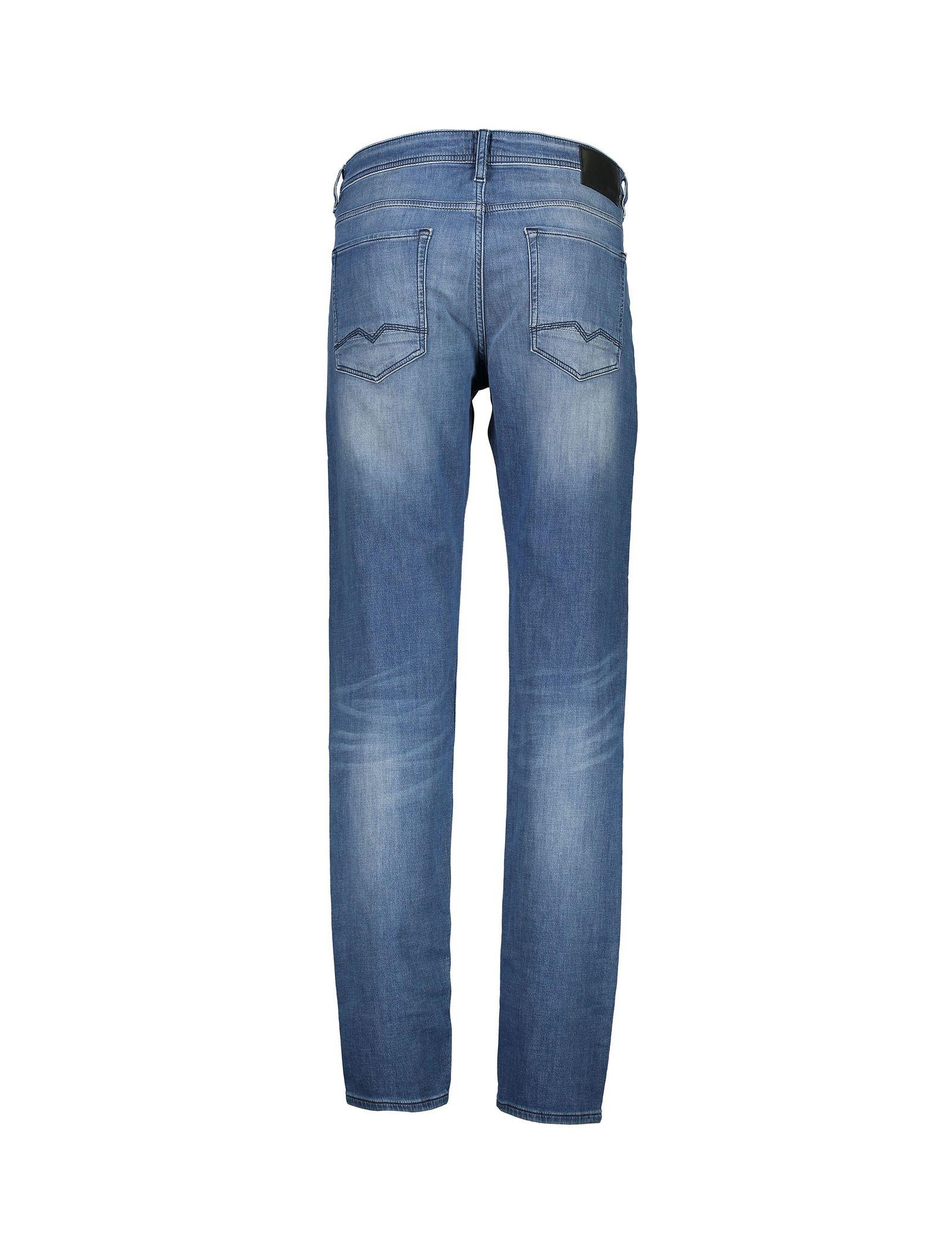 شلوار جین راسته مردانه Orange90-P SUAVE - باس اورنج - آبي تيره - 3
