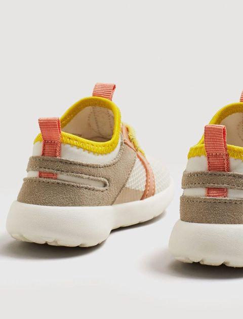 کفش بندی دخترانه نوزادی - بژ - 4