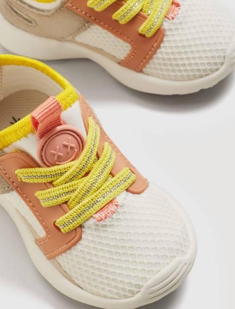 کفش بندی دخترانه نوزادی - بژ - 5