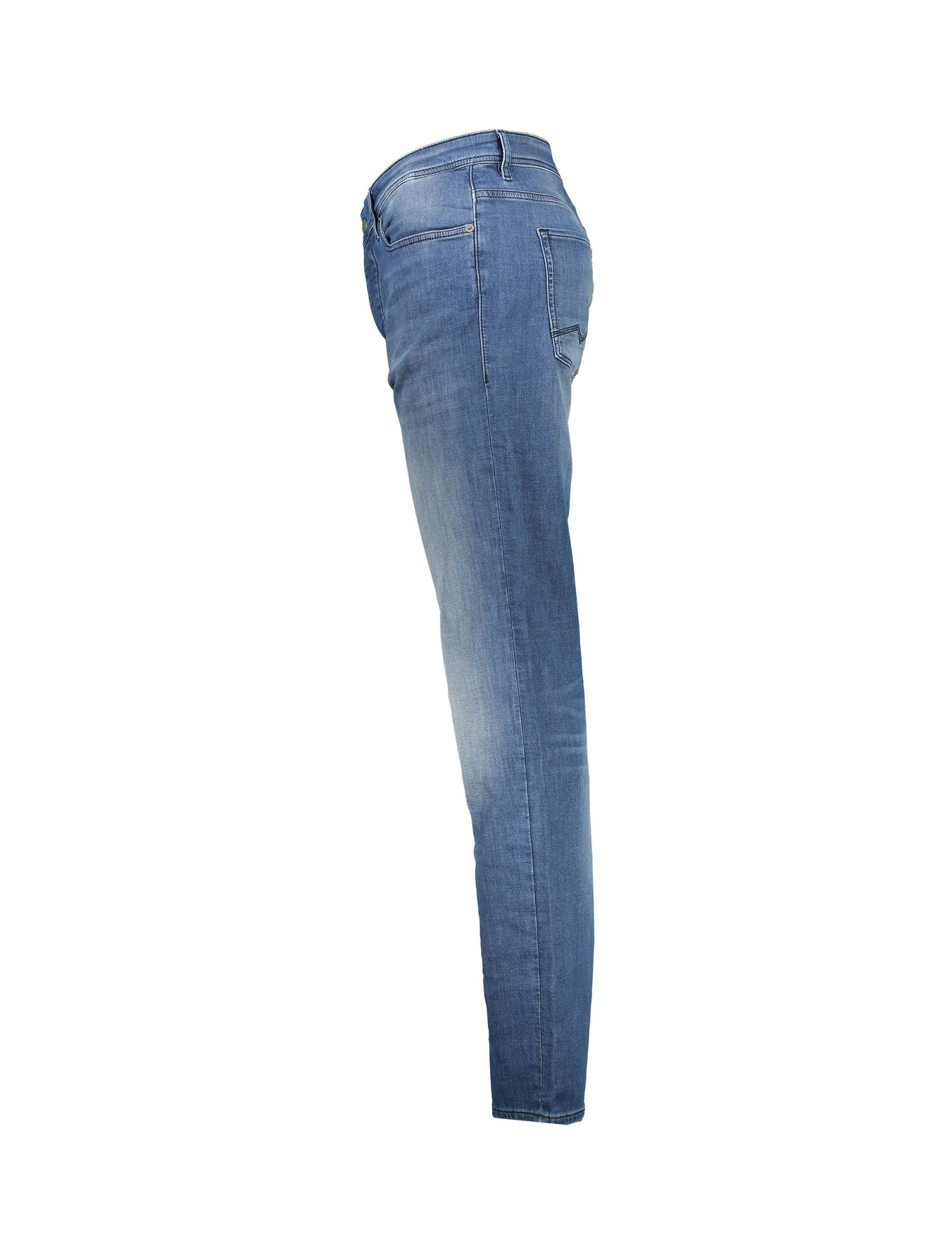 شلوار جین راسته مردانه Orange90-P SUAVE - باس اورنج - آبي تيره - 4