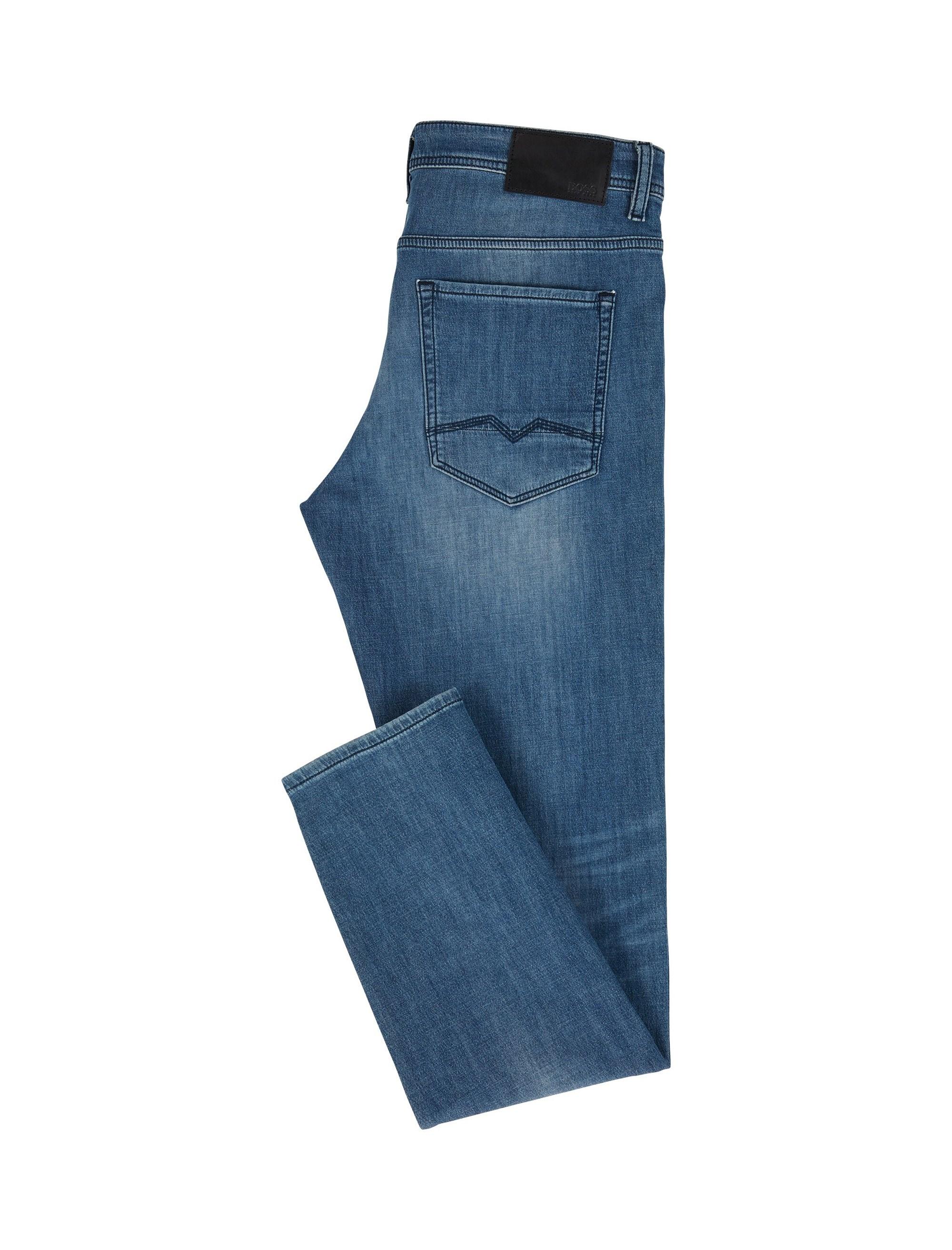 شلوار جین راسته مردانه Orange90-P SUAVE - باس اورنج - آبي تيره - 5