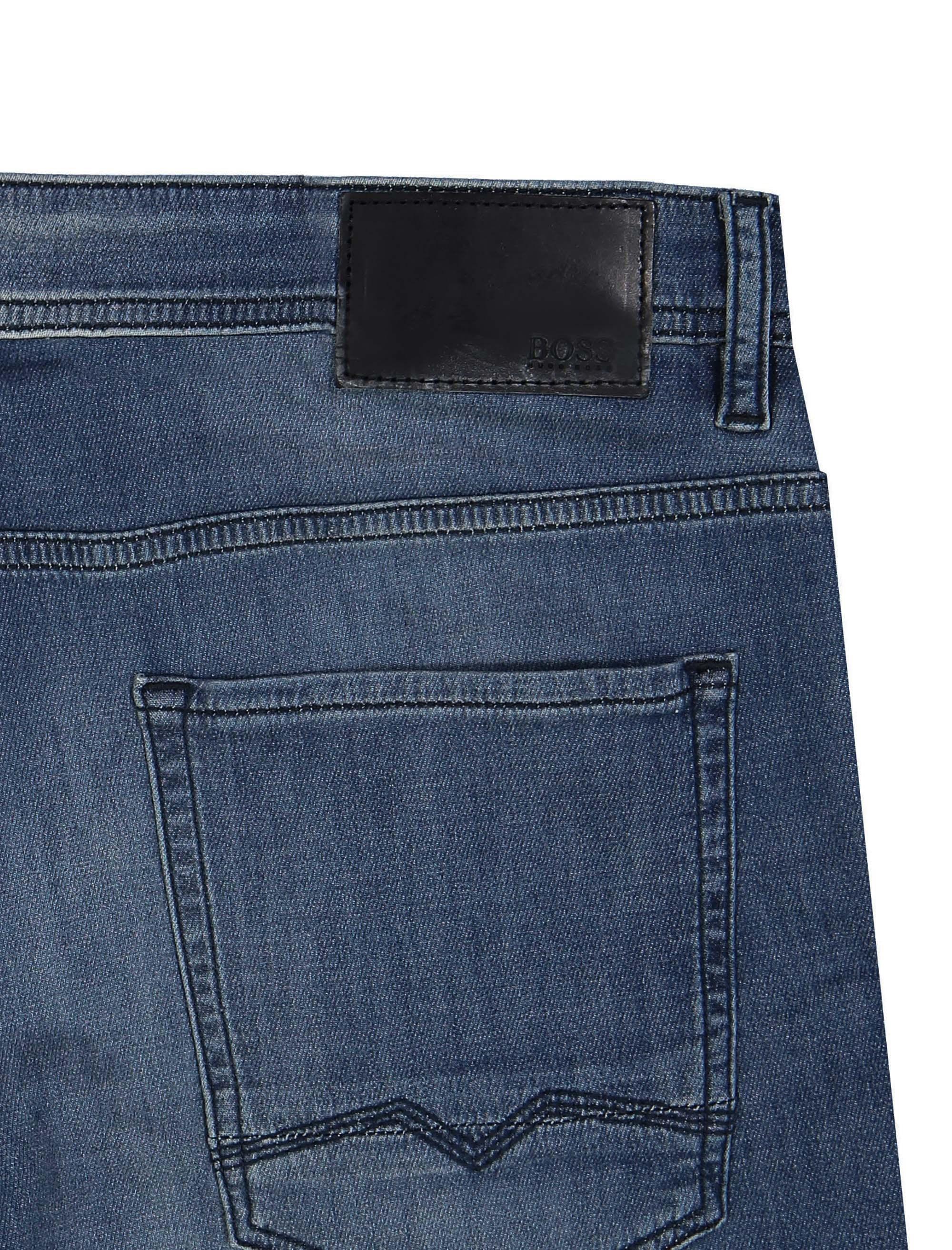 شلوار جین راسته مردانه Orange90-P SUAVE - باس اورنج - آبي تيره - 6