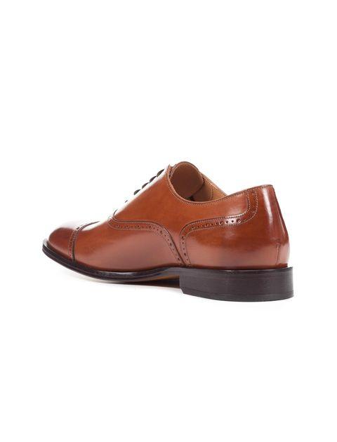 کفش رسمی چرم مردانه Saymore A - جی اوکس - قهوه اي  - 5