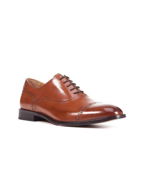 کفش رسمی چرم مردانه Saymore A - جی اوکس - قهوه اي  - 6
