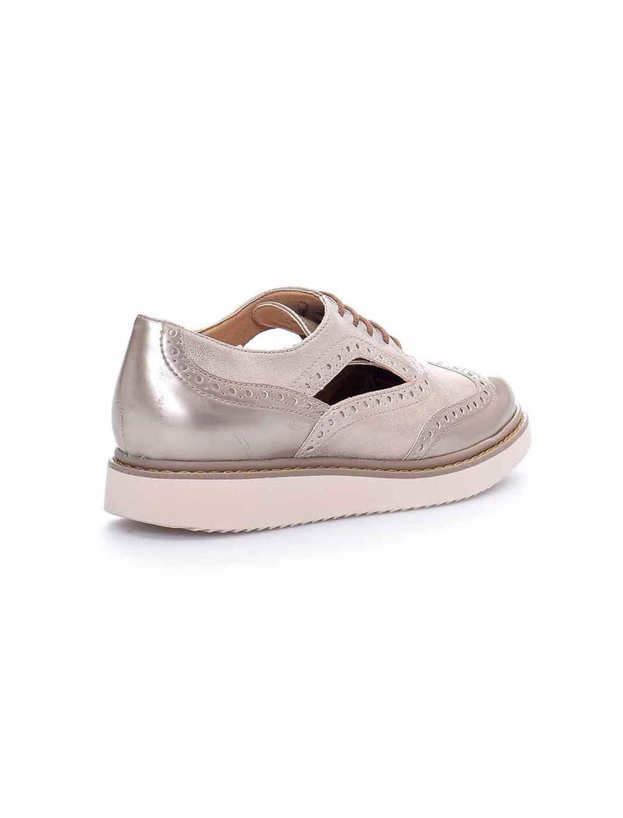 کفش تخت زنانه D Thymar - جی اوکس - بژ - 3
