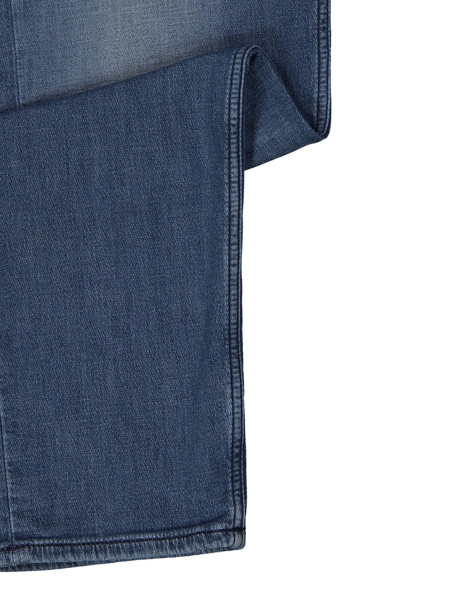 شلوار جین راسته مردانه Orange90-P SUAVE - باس اورنج - آبي تيره - 8