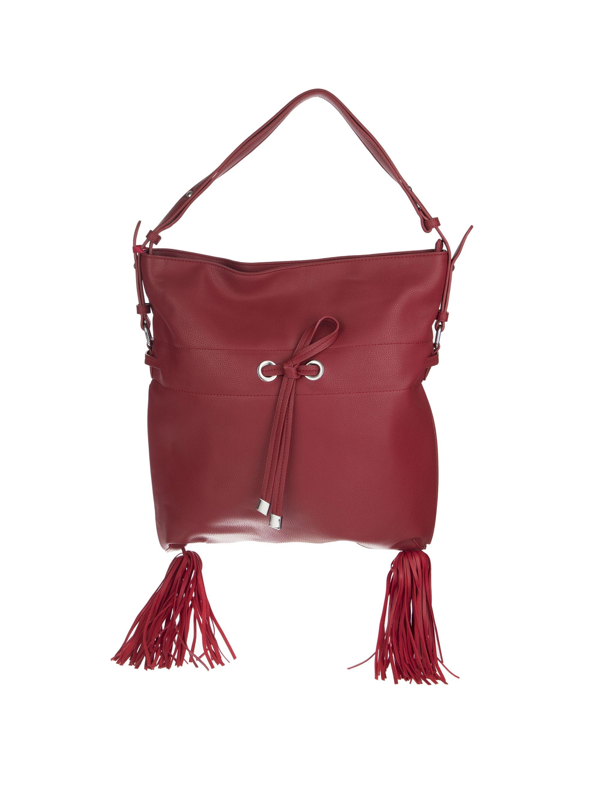 کیف دستی روزمره زنانه - قرمز - 1
