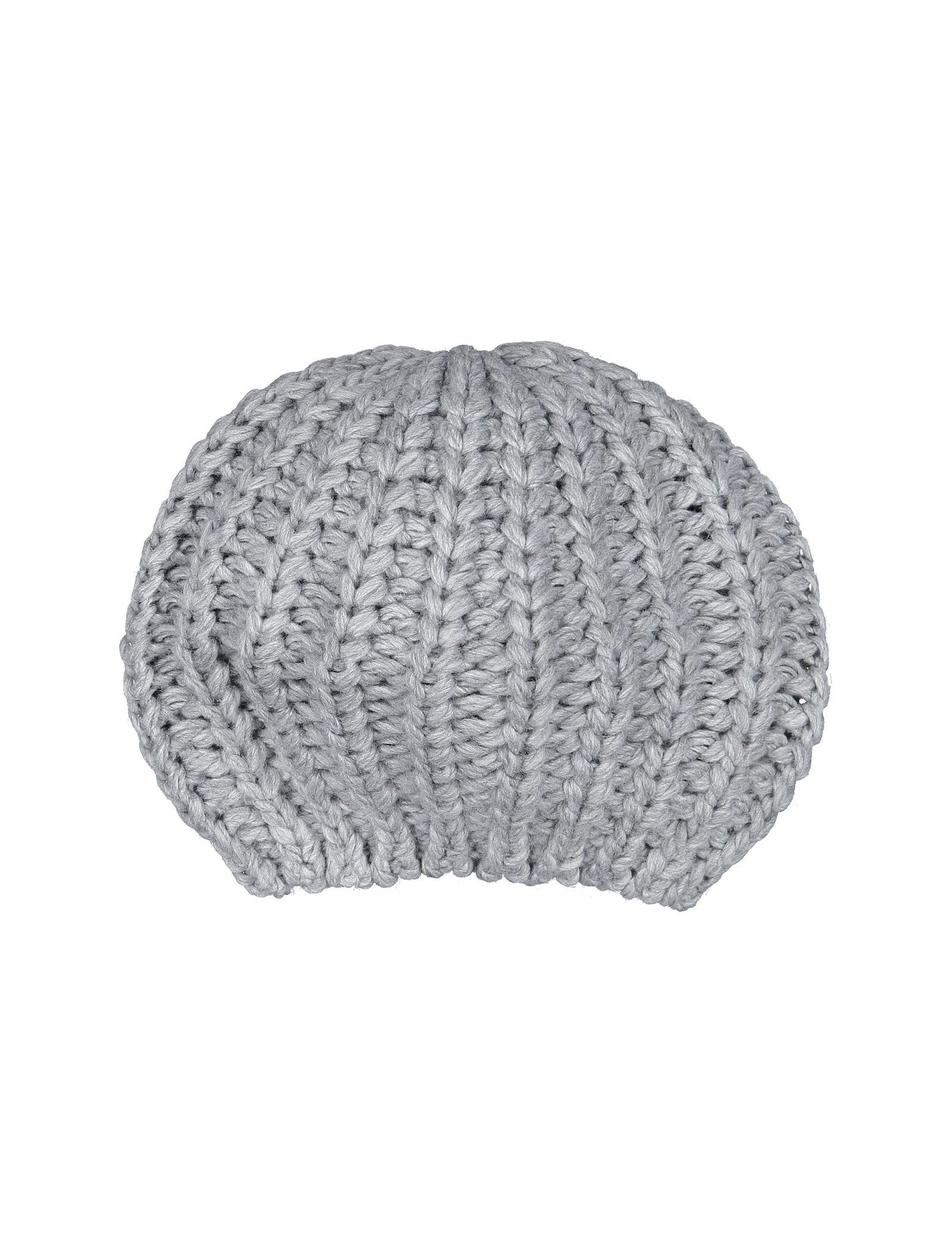 کلاه بافتنی بانی زنانه - تیفوسی - طوسي - 1