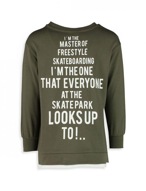 تی شرت نخی آستین بلند پسرانه - ال سی وایکیکی