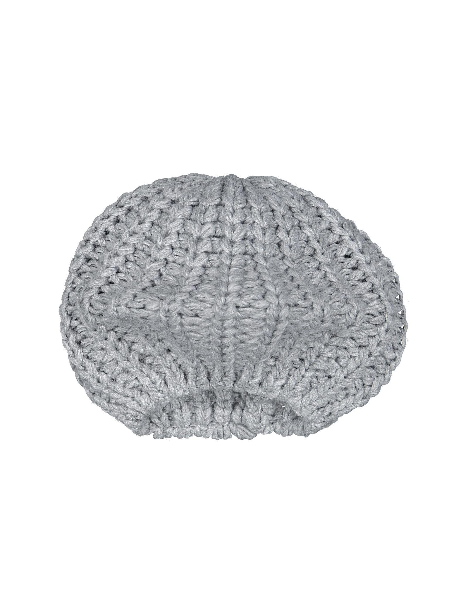 کلاه بافتنی بانی زنانه - تیفوسی - طوسي - 2