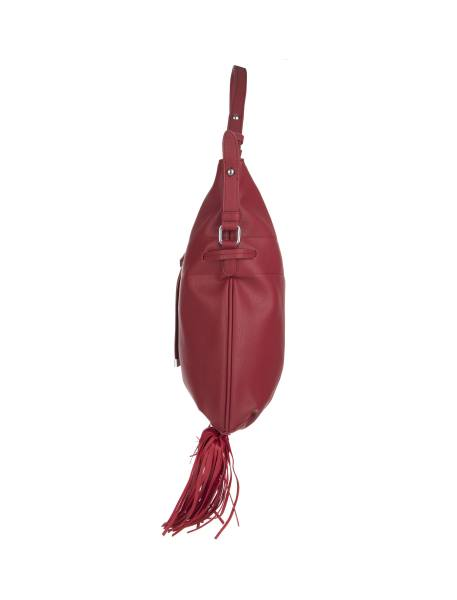 کیف دستی روزمره زنانه - قرمز - 4