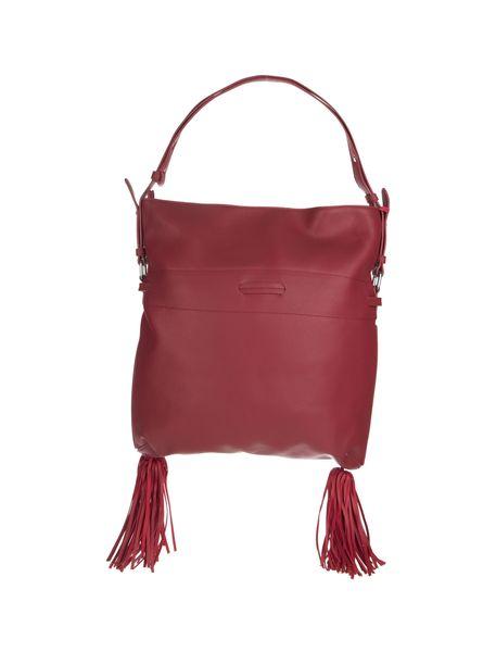 کیف دستی روزمره زنانه - قرمز - 5