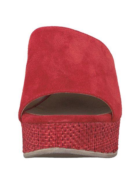 صندل لژ دار زنانه - تاماریس - قرمز - 4