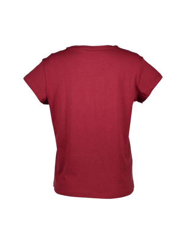 تی شرت نخی آستین کوتاه زنانه - مانگو