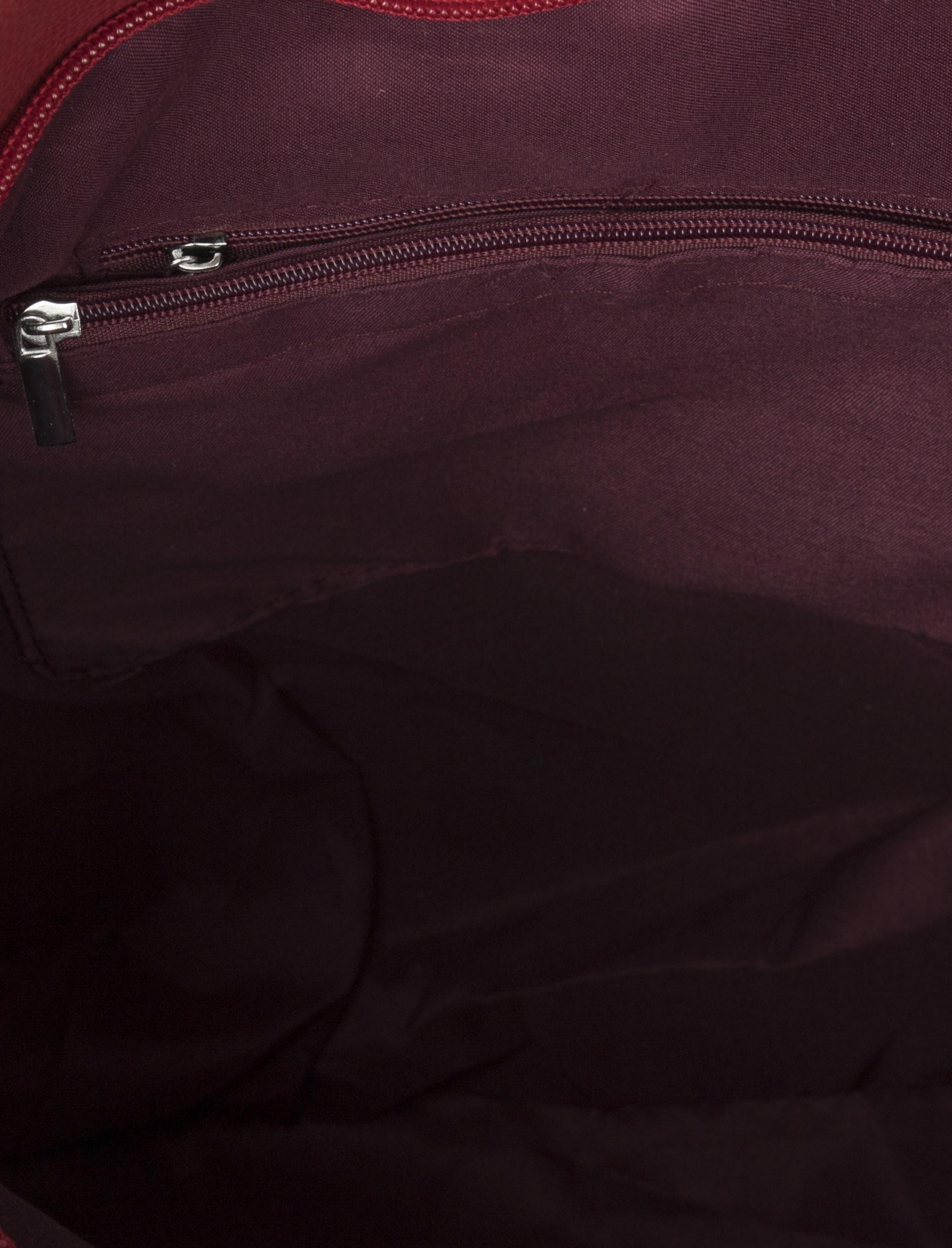 کیف دستی روزمره زنانه - قرمز - 6