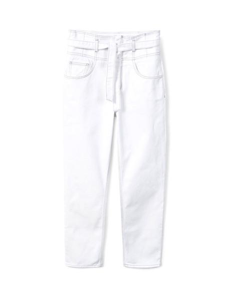 شلوار جین راسته زنانه - مانگو