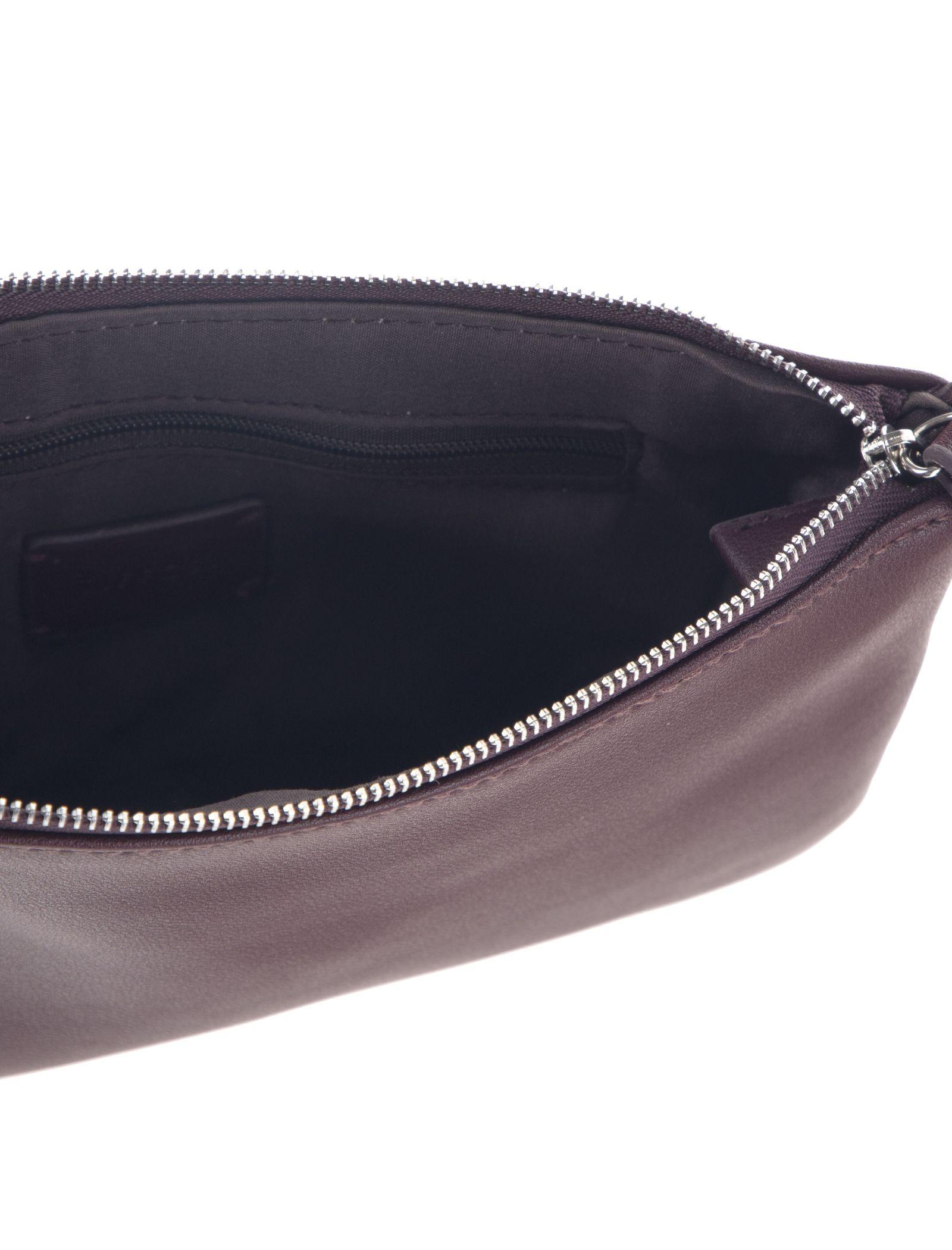 کیف دوشی روزمره زنانه - تیفوسی - قهوه اي زرشکي - 5