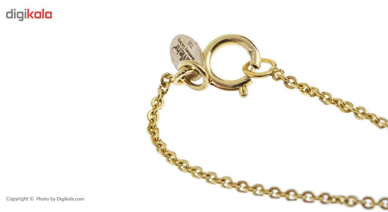 آویز ساعت طلا 18 عیار ماهک مدل MW0083 - مایا ماهک -  - 1