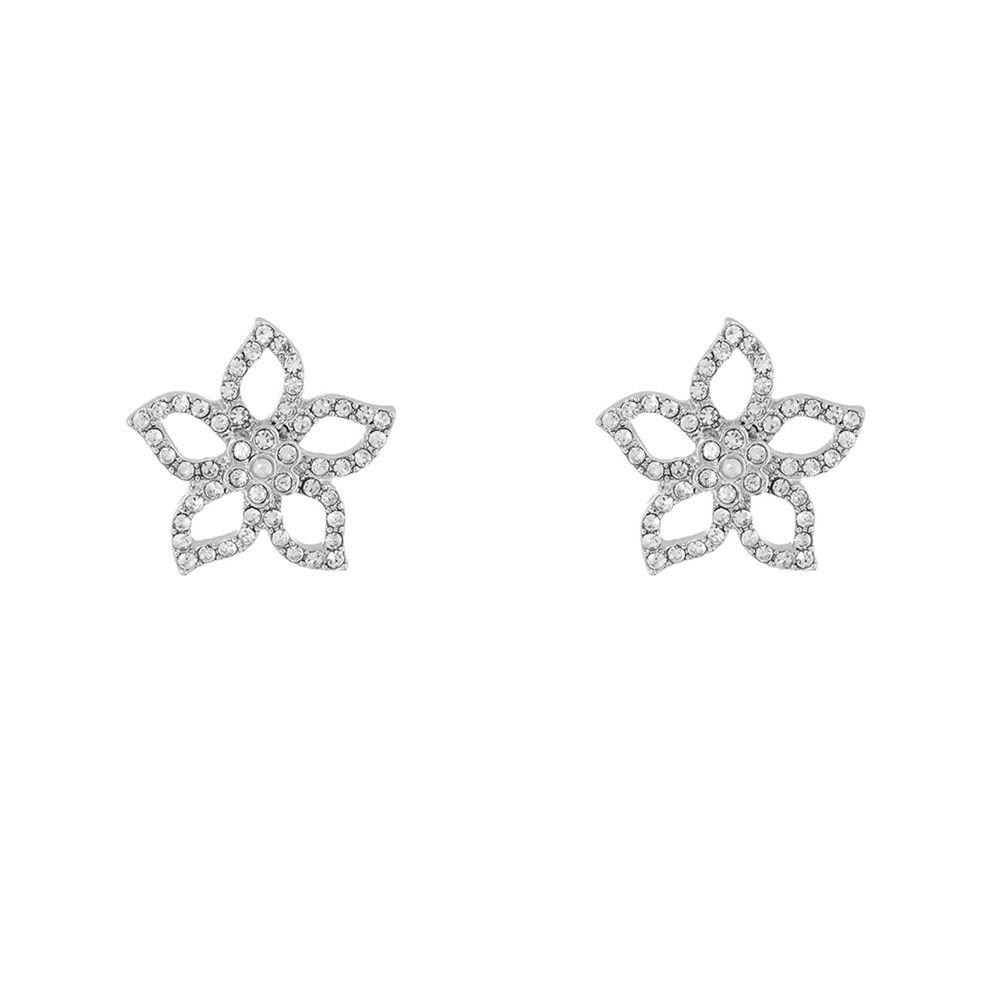 گوشواره میخی زنانه Cut Out Flower Stud - اکسسورایز تک سایز