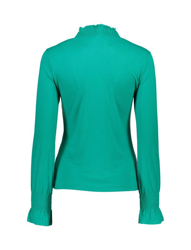 تی شرت ویسکوز یقه اسکی زنانه