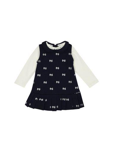 سارافون و تی شرت نخی نوزادی دخترانه