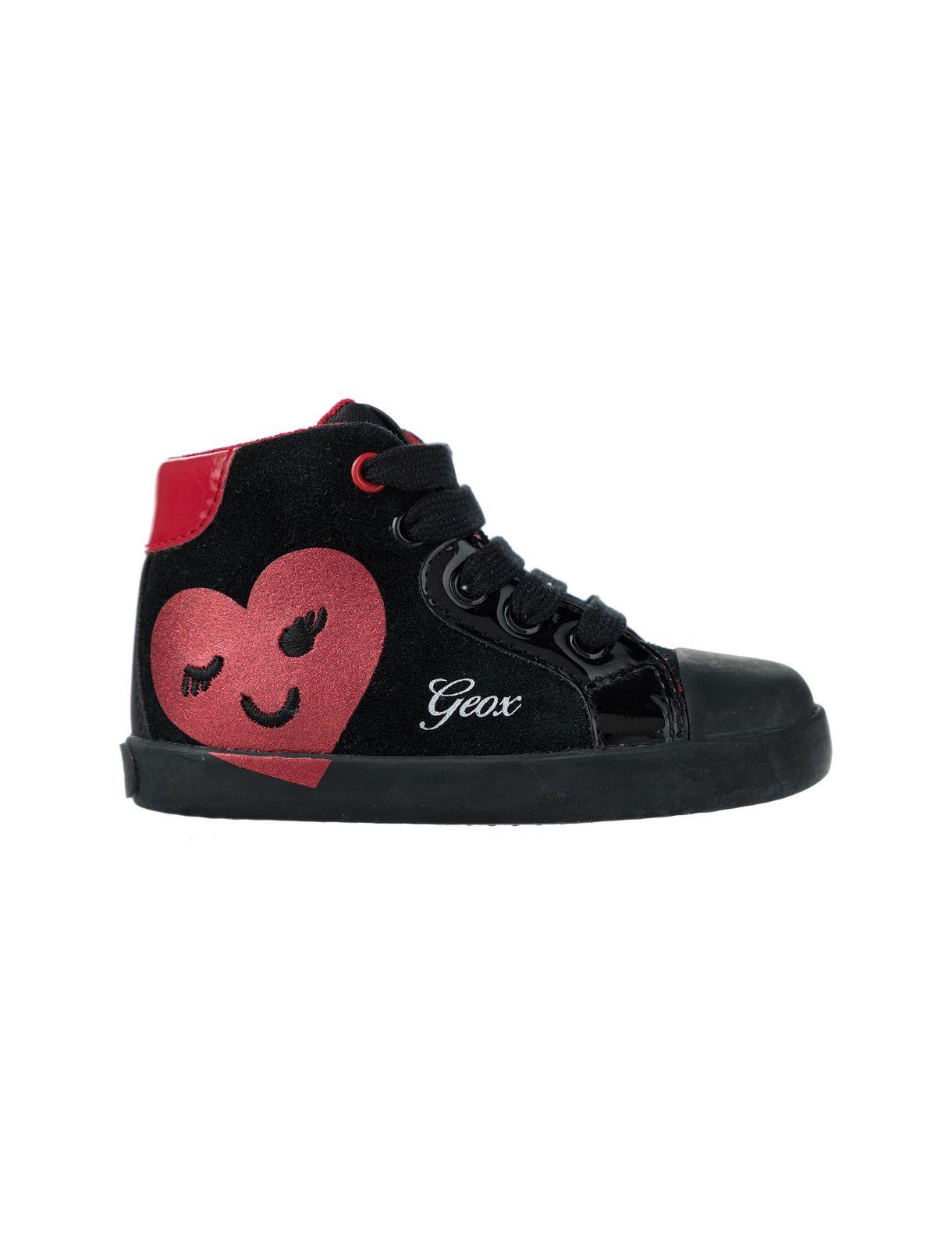 کتانی بندی دخترانه B Kilwi Girl – جی اوکس  Girls Lace-Up Sneakers B Kilwi Girl – Geox