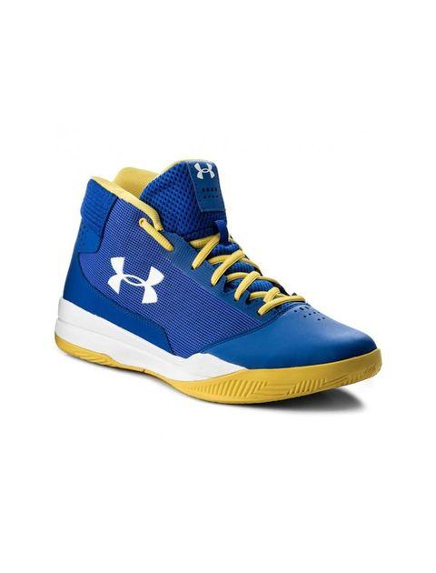 کفش بسکتبال بندی مردانه UA Jet - آبي - 1