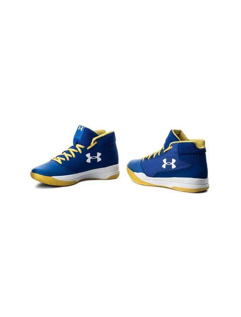 کفش بسکتبال بندی مردانه UA Jet - آبي - 2