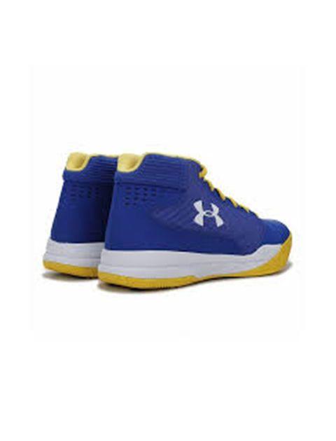 کفش بسکتبال بندی مردانه UA Jet - آبي - 3