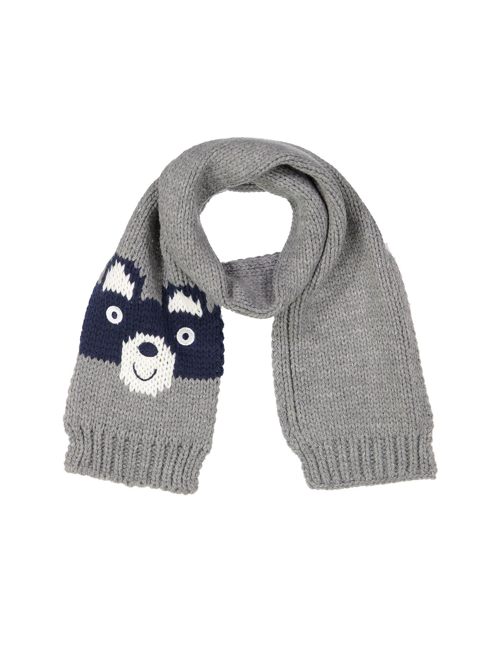 شال گردن بافتنی نوزادی پسرانه - ایدکس - طوسي - 1