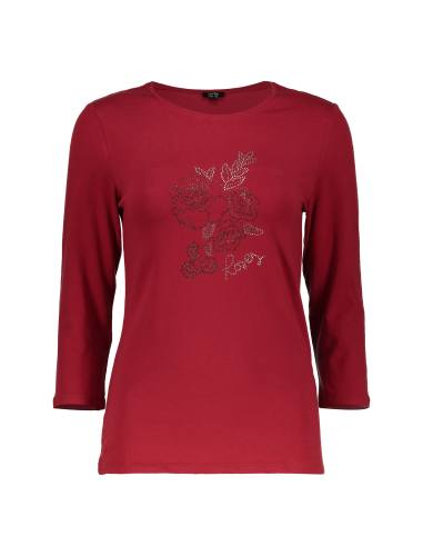 تی شرت نخی یقه گرد زنانه