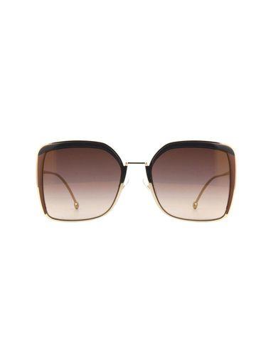 عینک آفتابی مربعی زنانه - فندی
