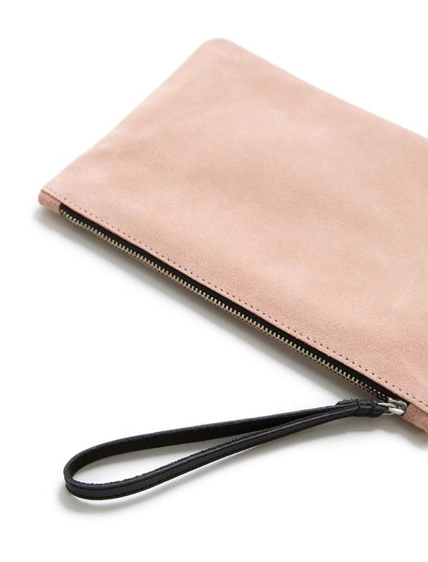 کیف لوازم آرایش جیر زنانه - مانگو تک سایز