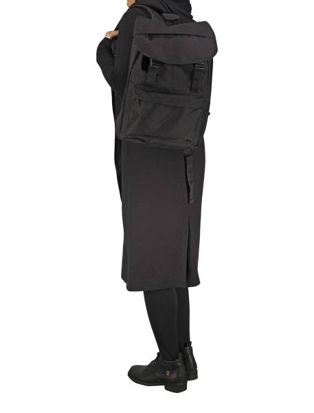 کوله پشتی روزمره مردانه - مشکي - 5