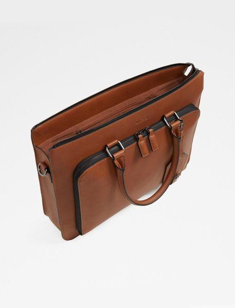 کیف دستی مردانه - قهوه اي - 3