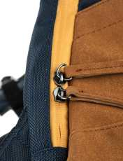 کوله پشتی روزمره مردانه - مانگو - آبي و عسلي - 6