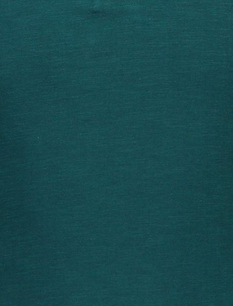 پولوشرت نخی آستین کوتاه مردانه - سبز  - 4