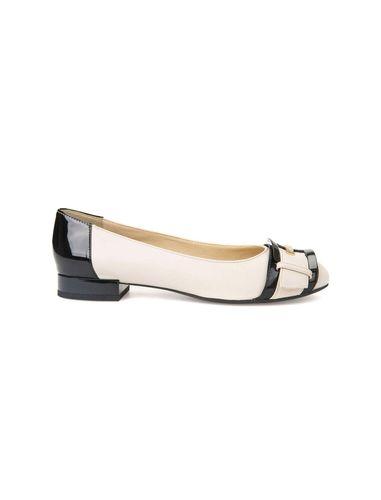 کفش تخت چرم زنانه Wistrey - جی اوکس