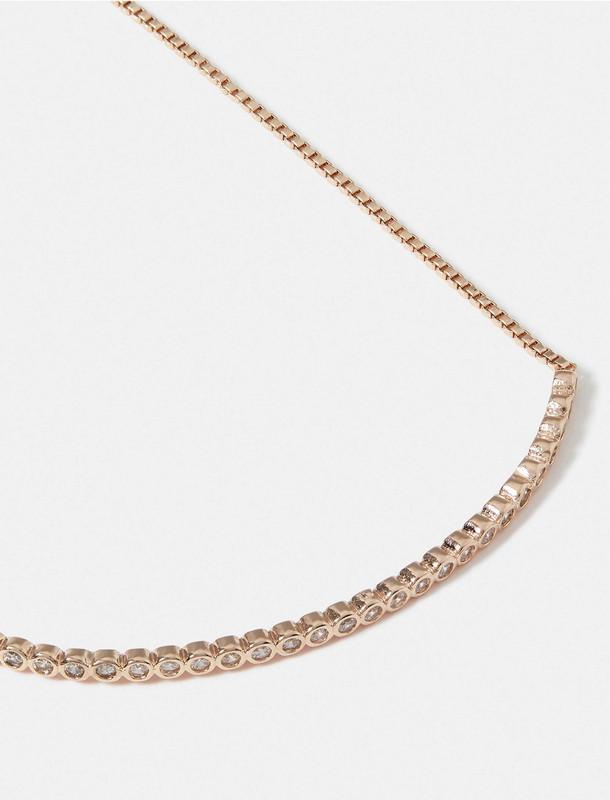دستبند زنجیری زنانه Delicate Sparkle Bar - اکسسوریز