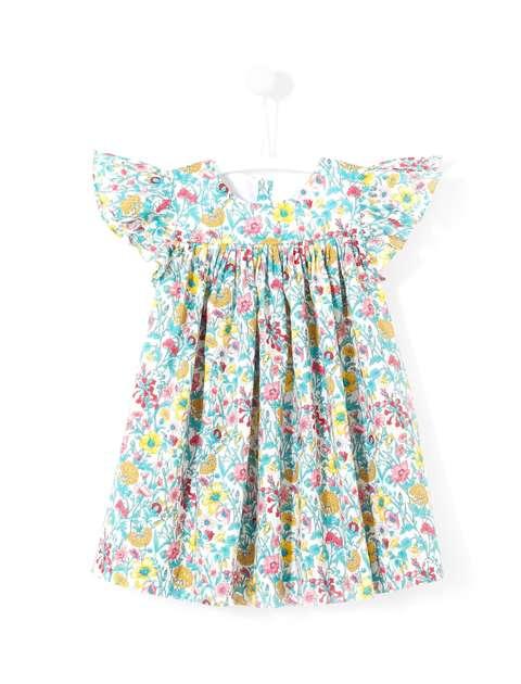 پیراهن نخی نوزادی دخترانه Layette - جاکادی