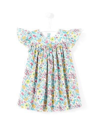 پیراهن نخی نوزادی دخترانه Layette